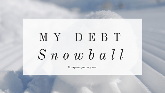 My debt snowball