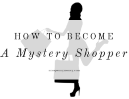 Get started with mystery shopping