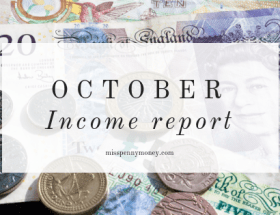 October income report
