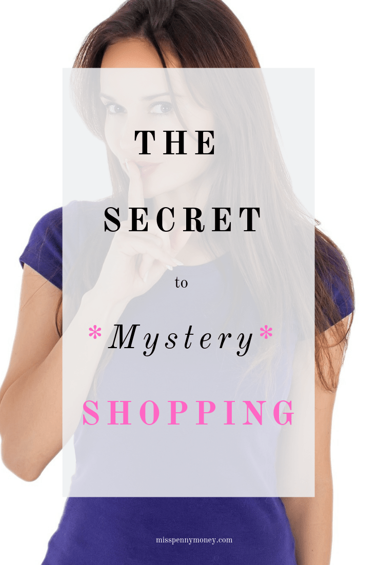 The Secret to Mystery Shopping