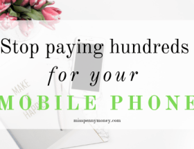 Cheaper Mobile Phone Bill