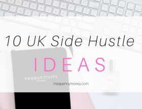 UK Side Hustle Ideas