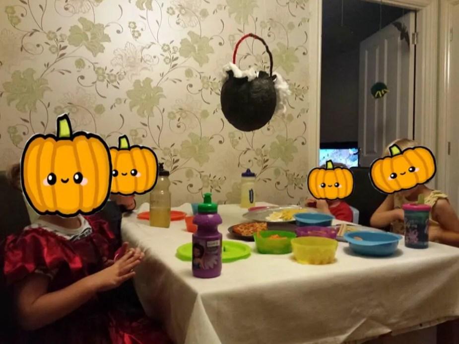 Halloween witches' cauldron craft