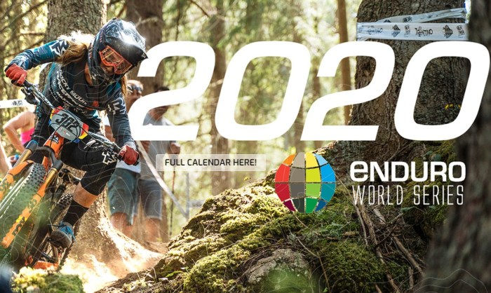 EWS 2020 Calendar Announced