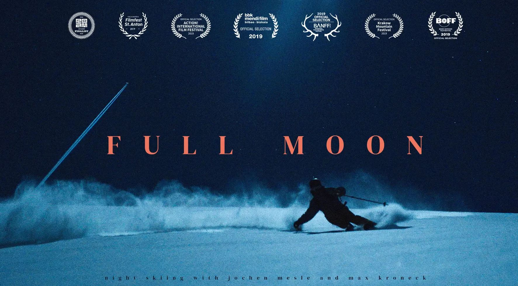 Full Moon – Night Skiing Without Artificial Light