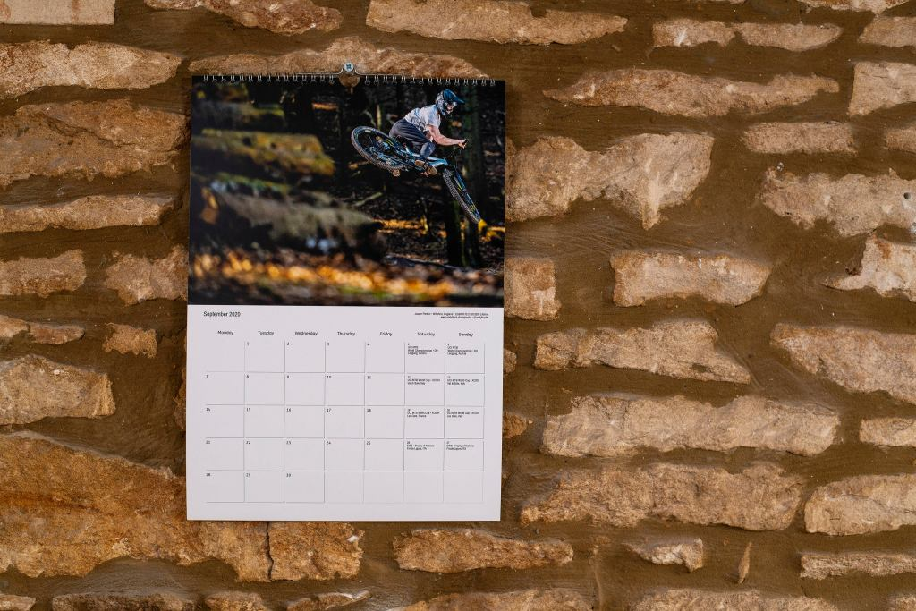 Mountain bike calendar 2020