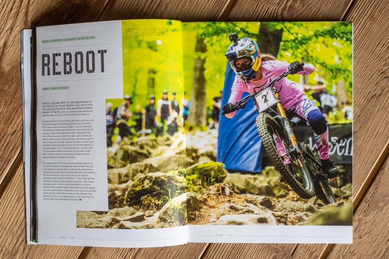 downhill mountain bike book