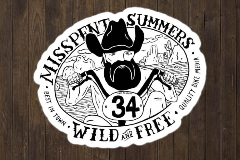 Misspent Summers stickers