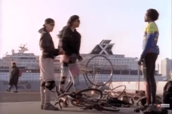 Bicycle messenger film New York City
