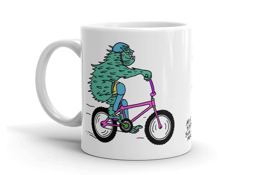 Misspent Summers Monster Mug 2