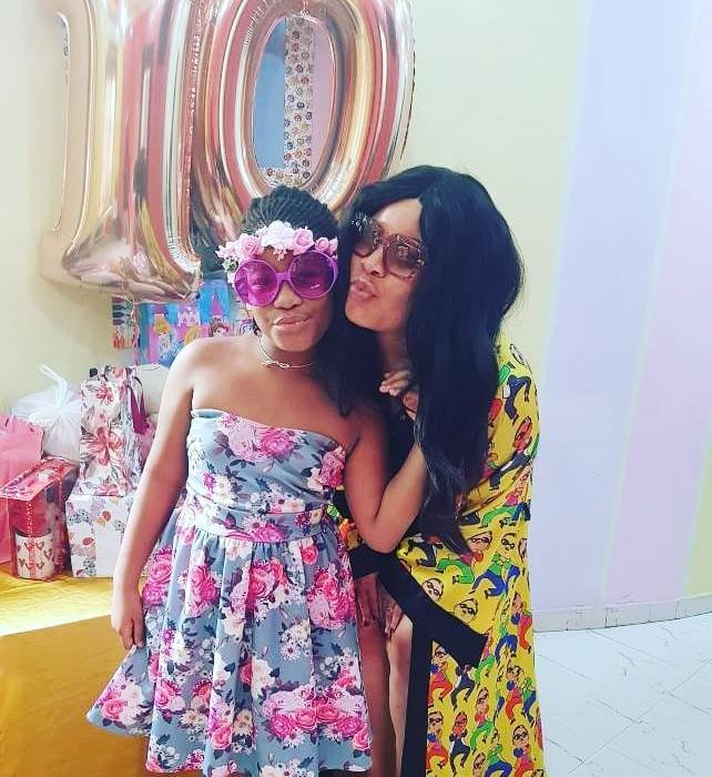 Monalisa Chinda celebrates as her daughter turns 10