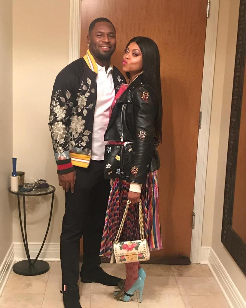 Taraji P Henson finally flaunts boyfriend Kelvin Hayden on Valentine's day
