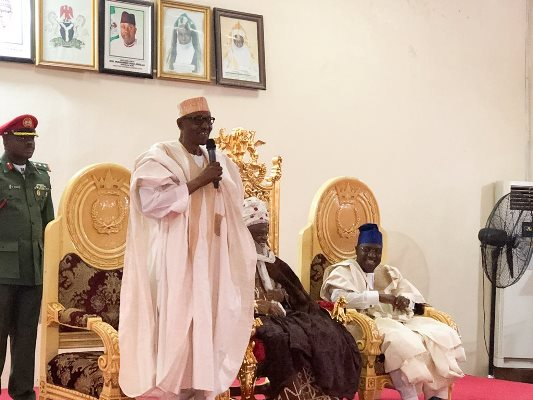 Buhari in Yola, boasts of fulfilling major promises