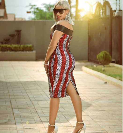 Juliet Ibrahim flaunts her hourglass figure in tight dress