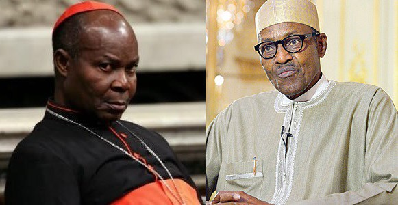 Admit failure – Cardinal Okojie to President Buhari