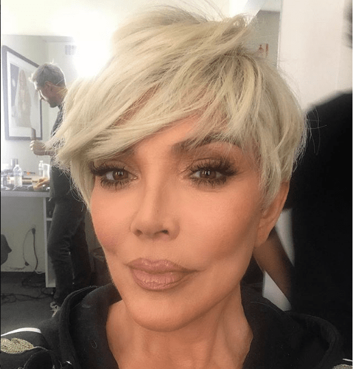 Kris Jenner Shows Off Her Huge Boobs In See Through Top Miss