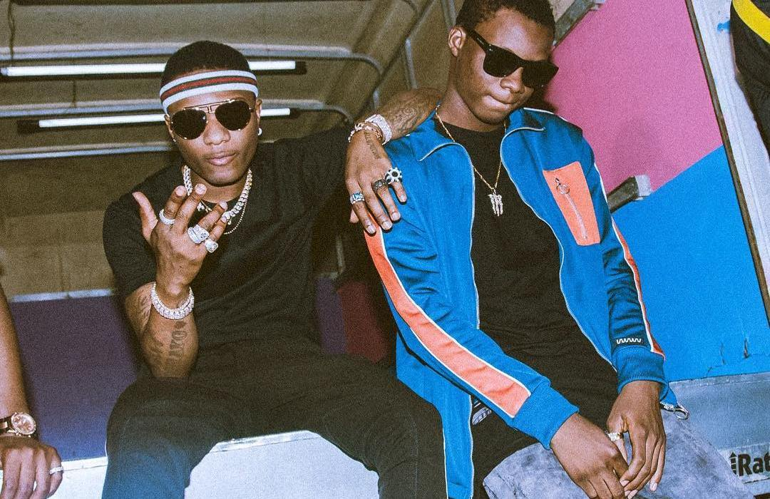 Photo :Wizkid officially signs Terri Ryn to his label