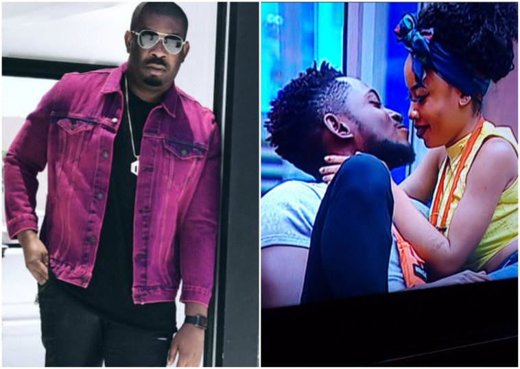 #BBNaija Donjazzy  reveals what he really thinks about Miracle and Nina's relationship