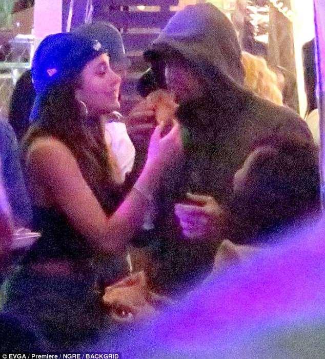 Leonardo Di Caprio and 'girlfriend' Camila Morrone loved up at Coachella