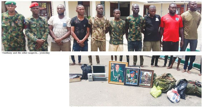 I deserted army for fear of Boko Haram-Suspect