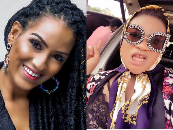 Nkechi Blessing, Juliet Ibrahim fight dirty on IG