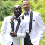 Nigerian gay man celebrate wedding anniversary