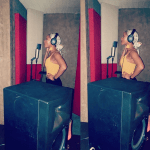 Actress turned singer,Adesua Etomi hits the studio