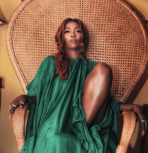 Tiwa Savage shoes off her bum in sultry new photos