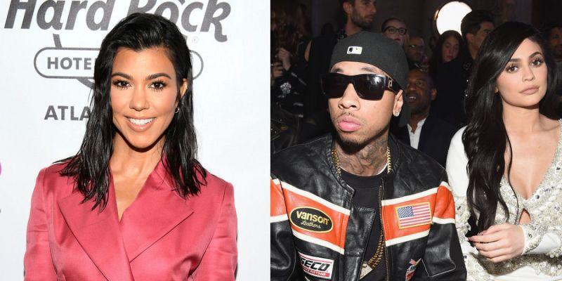 Kourtney Kardashian shades Tyga for taking credit for Kylie Jenner's success