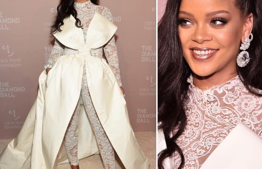Rihanna dazzles at her 4th annual Diamond Ball