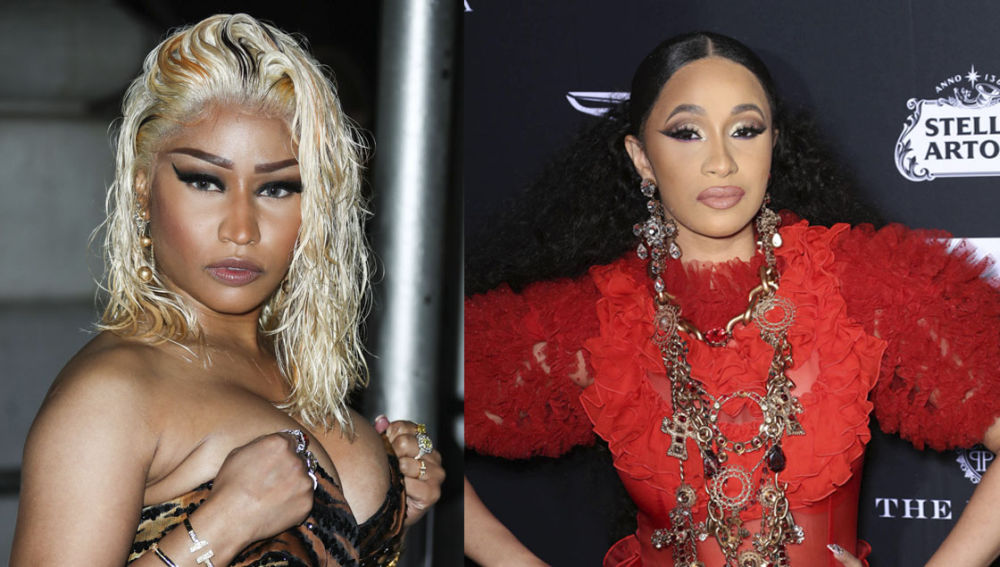 Cardi B battled with her team over release of tracks about Nicki Minaj