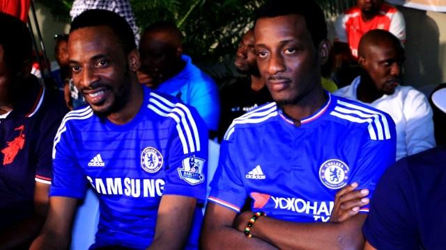 Nigerian musicians 9ice and ID Cabasa