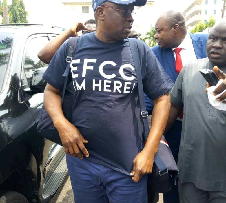 Take me to court-Fayose tells EFCC as they detain him over N4.6b slush funds