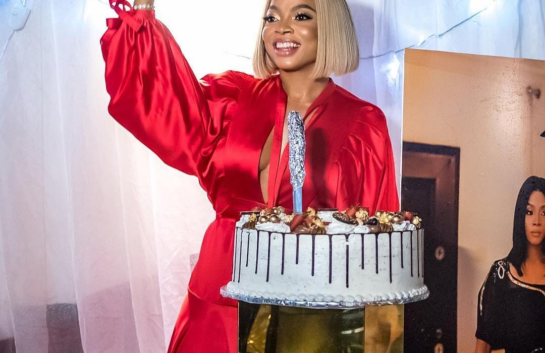 Photos from Toke Makinwa's star-studded 34th birthday party