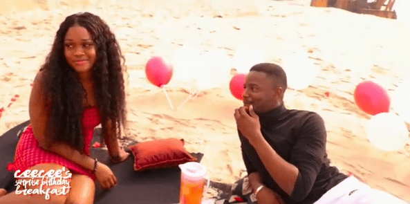 Leo sweeps Cee-C off her feet with romantic 26th birthday surprise