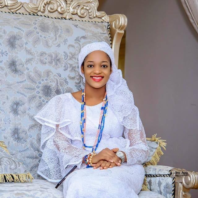 Ooni of Ife's wife, Naomi is stunning in new photo