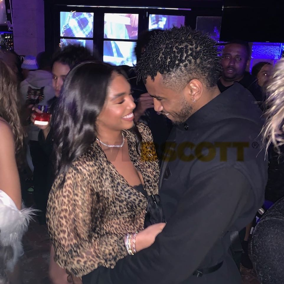 Photos: Trey Songz dating Steve Harvey's daughter ,Lori ...