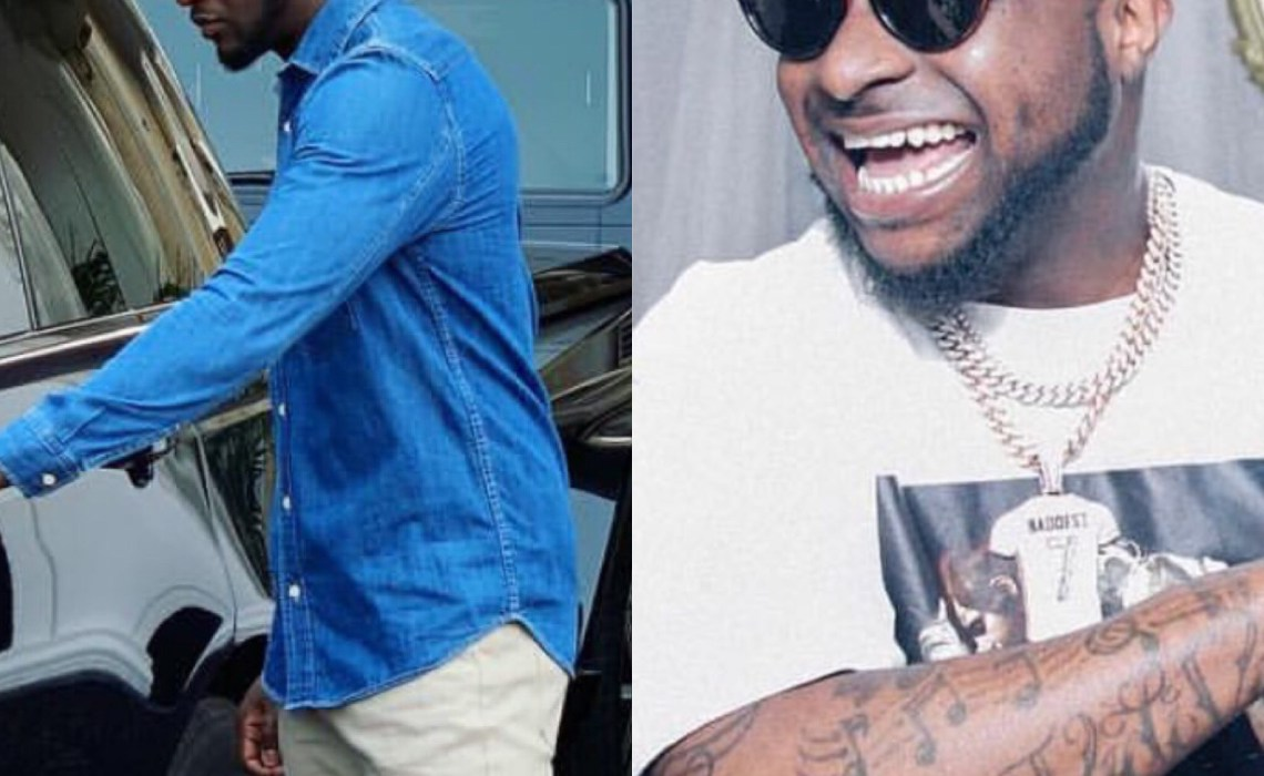Davido's failed attempt to troll Peter Okoye