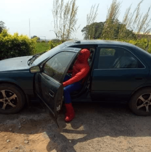 University Lecturer transforms into Spider Man for the sake of his students
