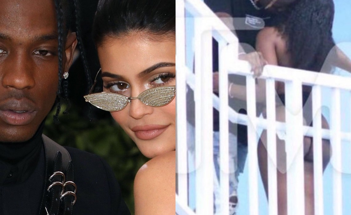 Kylie ,Kim and Kylie slam Youtuber over Travis Scott cheating prank