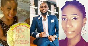 Davido has reached out to his first baby mama-Kemi Olunloyo