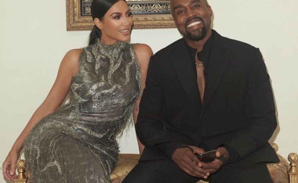Kim Kardashian and Kanye West are serving couple goals in new photos