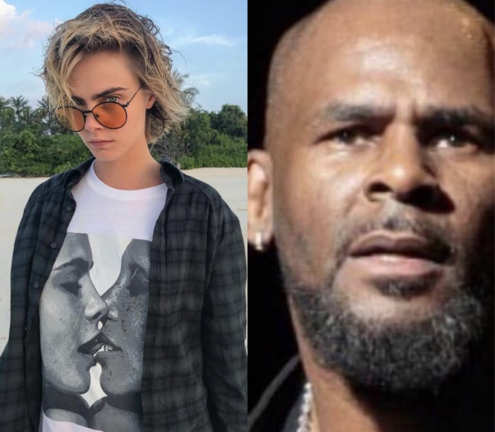 Cara Delevingne loses 50,000 followers after R Kelly post