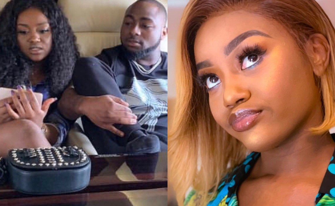 Is this why Davido's girlfriend Chioma deleted her Instagram account ?