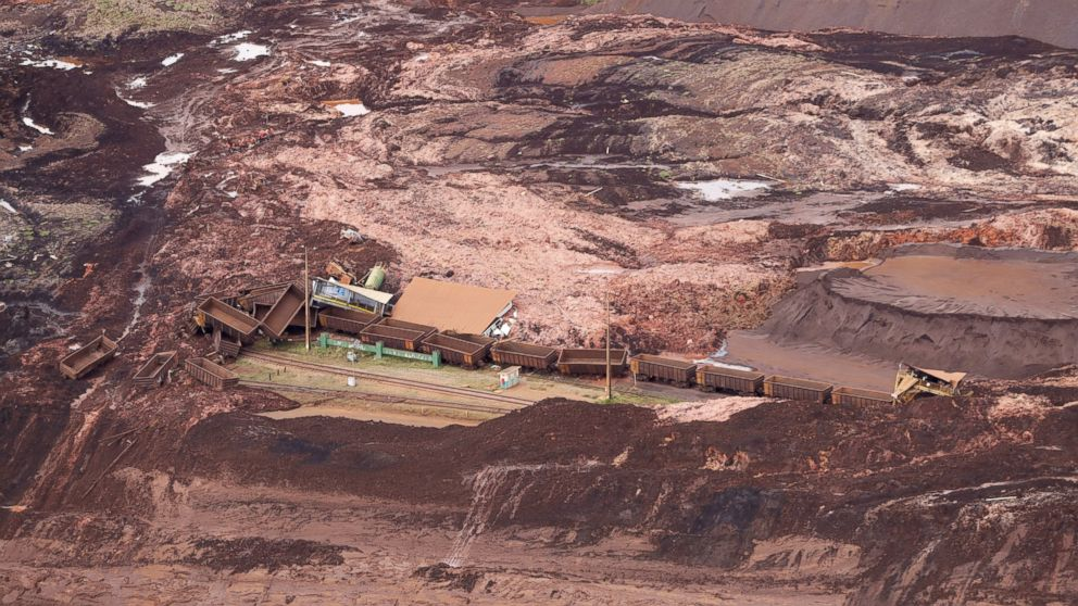 58 dead, at least 300 missing after dam collapse in Brazil