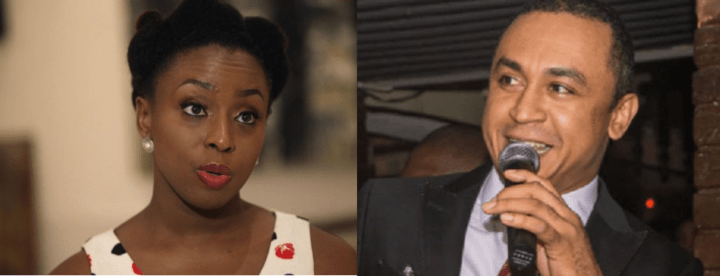 You are just a twisted Chimamandian – Daddy Freeze attacks author again
