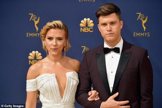 Scarlet Johansson and SNL 's Colin Jost are engaged
