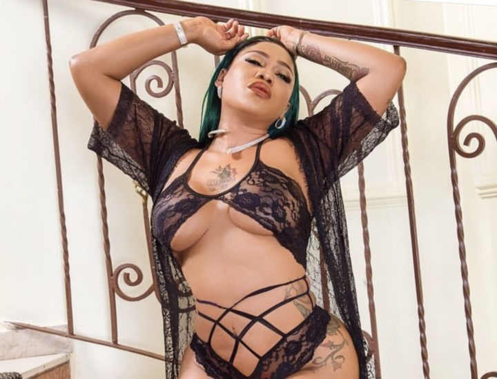 Toyin Lawson shares jaw-dropping lingerie photo