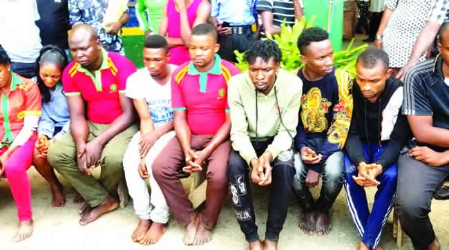 Police arrest filling station attendants for conniving with ATM fraudsters