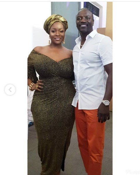OAP Toolz Pictured With Akon at The Celebration of Afro Beats (Photos)